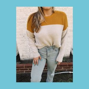 Urban Outfitters color block sweater